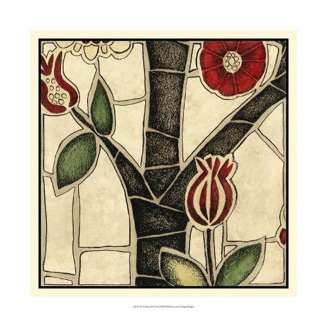 Floral Mosaic III Art Print