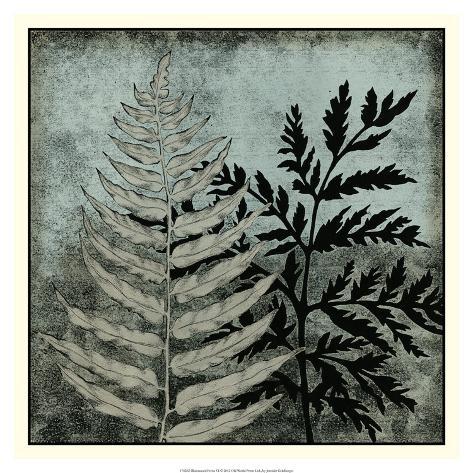 Illuminated Ferns VI Giclee Print