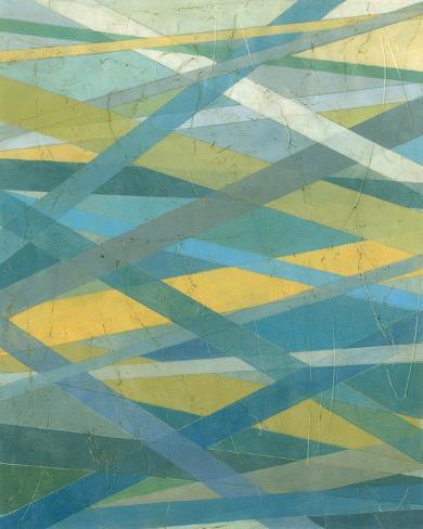 Intersecting II Art Print