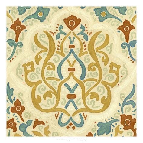 Non-Embellished Bombay Design I Giclee Print