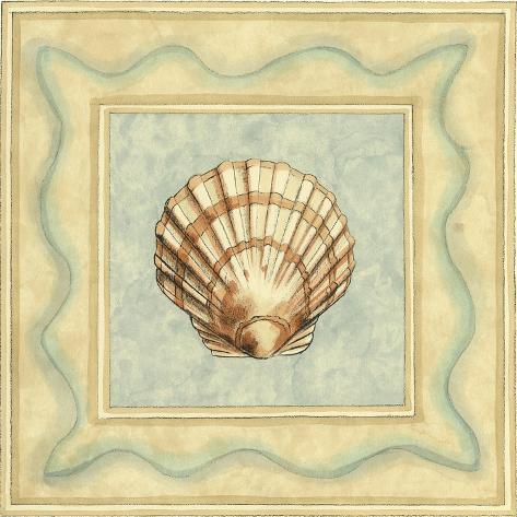 Shell Collector IV Art Print