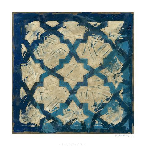 Stained Glass Indigo I Limited Edition