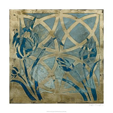 Stained Glass Indigo III Limited Edition