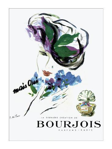 Bourjois Giclee Print