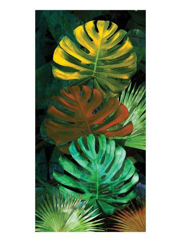 Tropical Monstera Art Print
