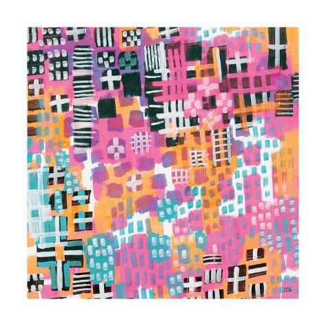City Lights Crop Art Print