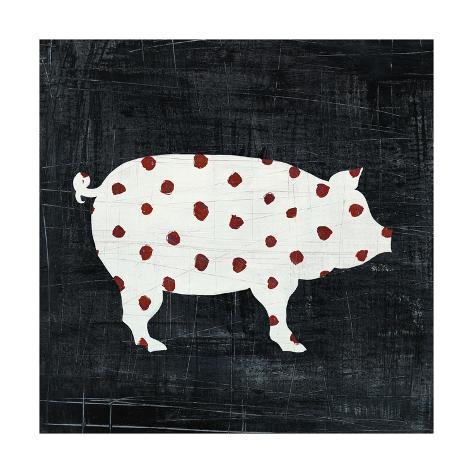 Modern Americana Farm I Art Print