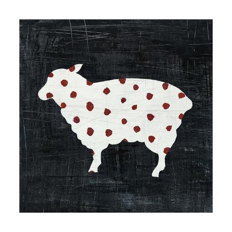 Modern Americana Farm II Art Print