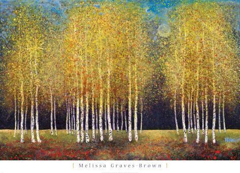 Golden Grove Art Print