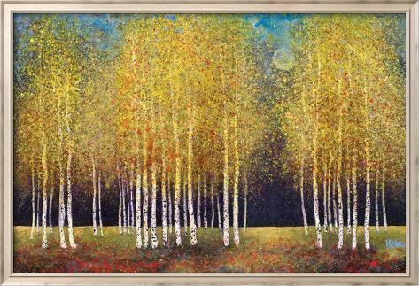 Golden Grove Framed Art Print