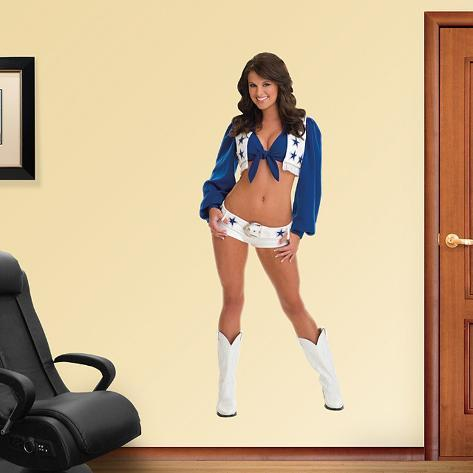 Melissa Kellerman- Dallas Cowboys Cheerleaders Wall Decal