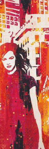 Urban Girl Art Print