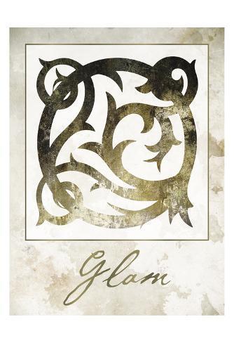 Glam Damask Art Print