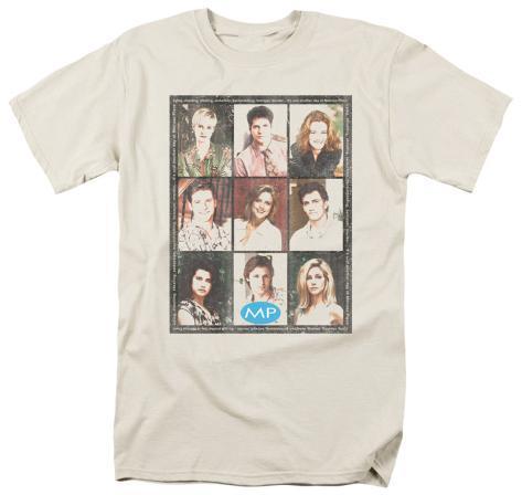 Melrose Place - Season 2 Cast Squared T-Shirt