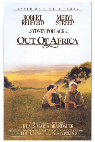 Memorias de África|Out of Africa Póster