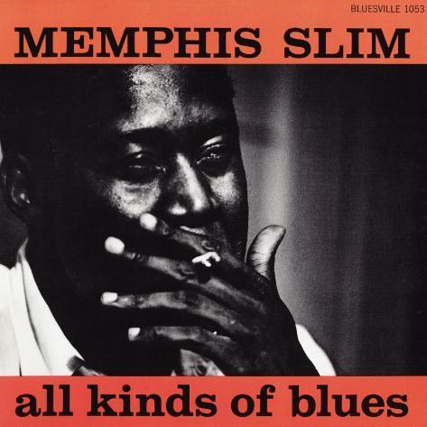 Memphis Slim - All Kinds of Blues Art Print