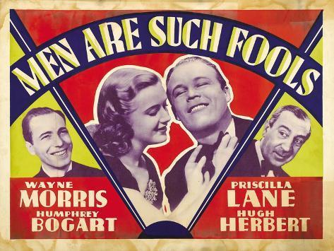 Men Are Such Fools, 1938 Art Print