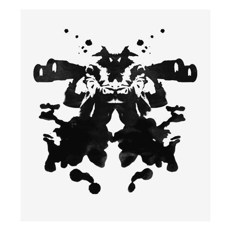 Men Looking Through Binoculars Stretched Canvas Print