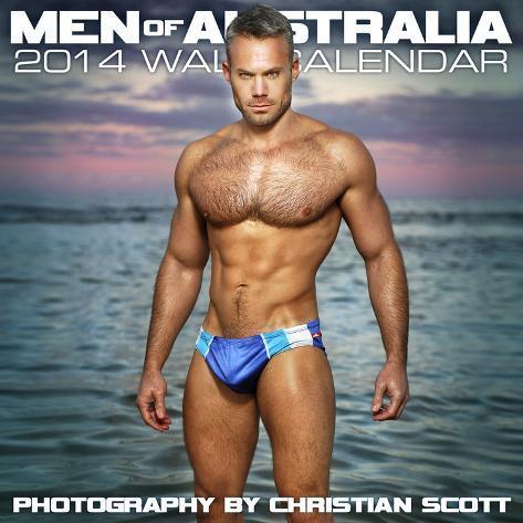 Men of Australia - 2014 Calendar Calendars
