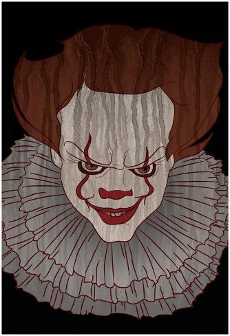 Menacing Clown Poster