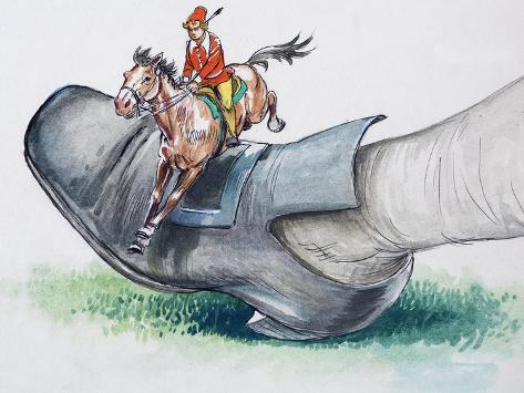 Gulliver's Travels, from 'Treasure', 1966 Giclee Print