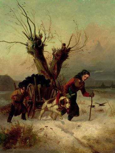 Heavy Load, C.1850 Giclee Print
