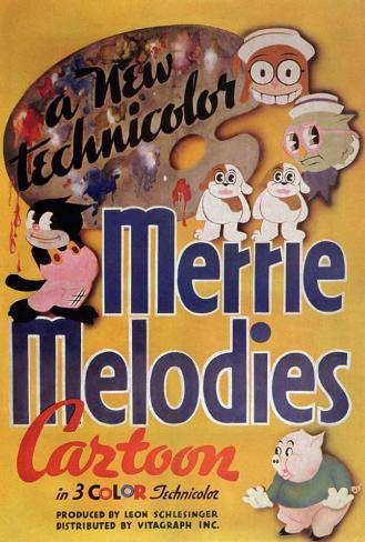 Merrie Melodies Poster