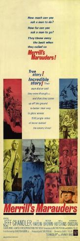 Merrill's Marauders, 1962 Konstprint