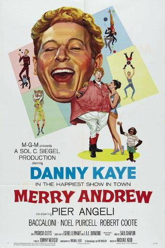 Merry Andrew, 1958, Directed by Michael Kidd Giclee Print