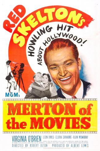 Merton of the Movies Art Print