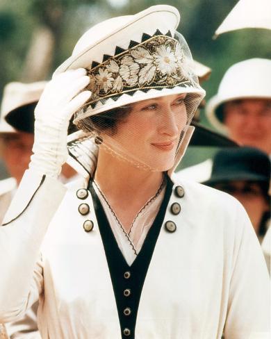 Meryl Streep - Out of Africa Fotografía