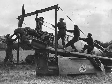 Messerschmitt Repairs Photographic Print
