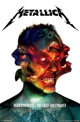Metallica- Hardwired Album Art Poster