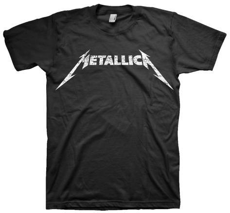 Metallica - Logo T-shirt