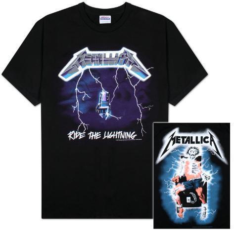 Metallica - Ride the Lightning T-Shirt