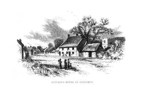 Metcalf's Home Giclee Print