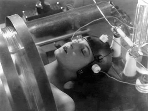 Metropolis, Brigitte Helm, 1927 Photo