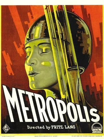 METROPOLIS, Brigitte Helm, 1927 Art Print