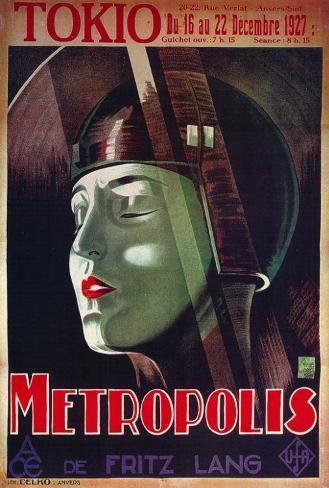Metropolis - French Style Poster