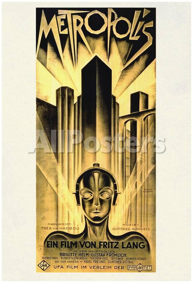 Metropolis Movie Fritz Lang Poster Print Pósters en AllPosters.es
