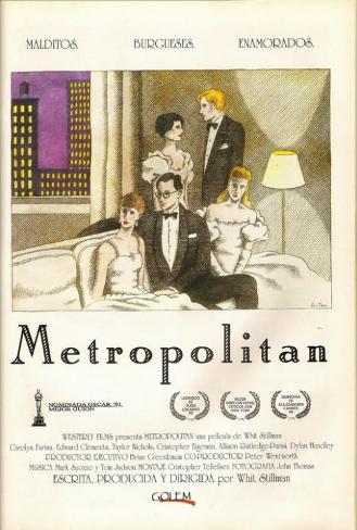 Metropolitan - Spanish Style Poster