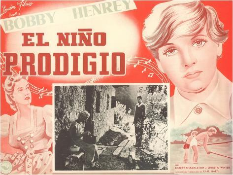 Mexican Movie Poster for the Prodigal Son Art Print