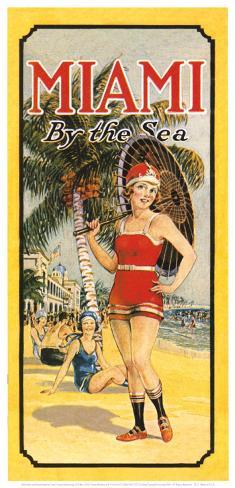 Miami, by the Sea Art Print