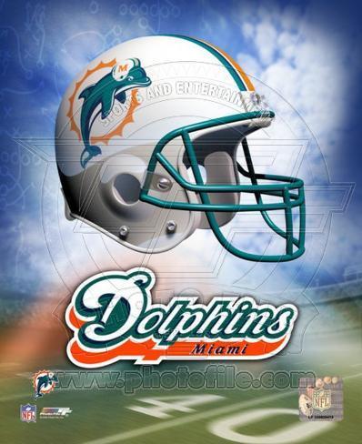 Miami Dolphins Helmet Logo ©Photofile Photo