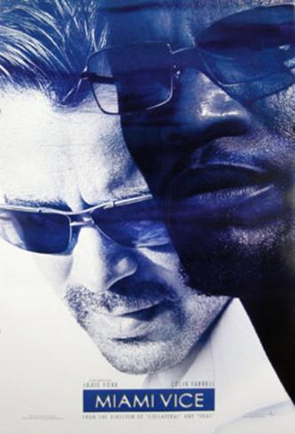 Miami Vice Double-sided poster