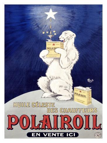 Polairoil Giclee Print