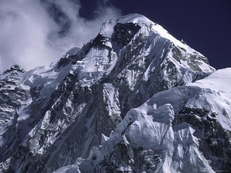 Mount Nuptse, Nepal Photographic Print