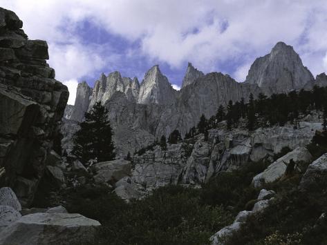Mt. Whitney, California, USA Photographic Print