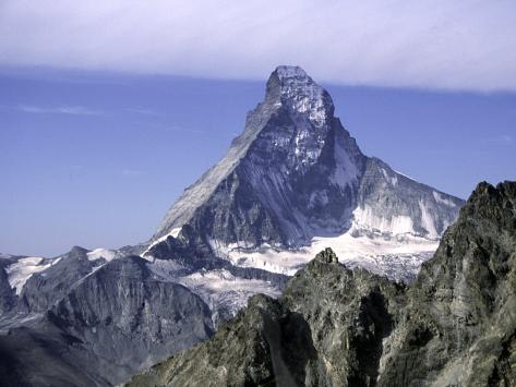 North Face of Matterhorn, Switzerland Photographic Print