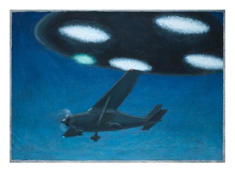 UFO Near Melbourne, Australia Giclee Print